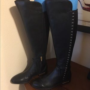 New Genuine Leather Tall Shaft Boots